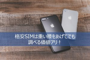 auから格安SIMに変えたiPhone