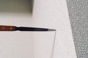 刺さらないブログを揶揄するペーパーナイフ